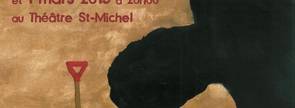 Publicité du Théâtre Saint-Michel