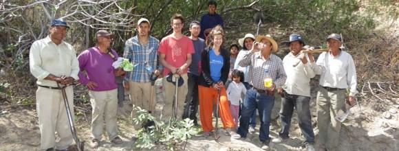 « Sécurité alimentaire et économique : projet d'irrigation à Omate au Pérou»