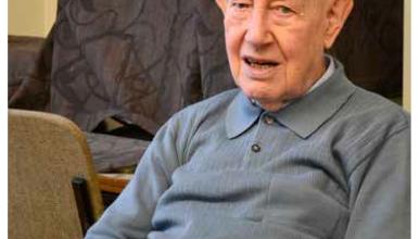 Rencontre avec un centenaire, ancien de St-Michel