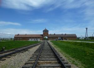 L'entrée de Birkenau