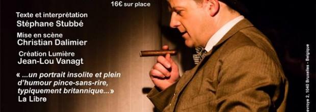 «NO SPORT» : Rencontre avec Winston Churchill au Théâtre Saint-Michel
