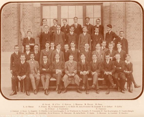 Album : 1910<br> 1910 A<br> Rhétorique 1909-1910.