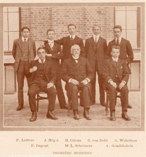 Album : 1909<br> 1909 I<br> Ière Moderne 1908-1909.