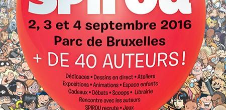 Invitation au 3è Festival de la BD à Bruxelles