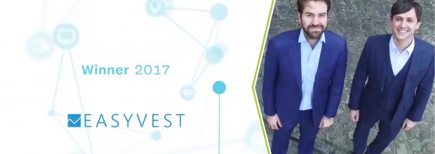 Bravo à nos anciens : Easyvest remporte le prix Rise 2017 !
