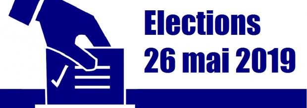 ELECTIONS du 26 mai 2019.